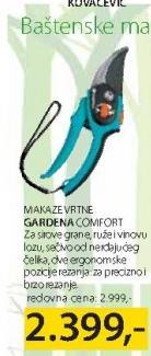 Baštenske makaze Comfort, Gardena