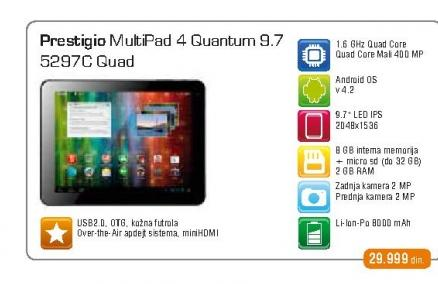 Tablet Multipad 5297