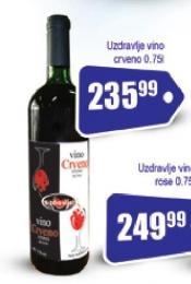 Crveno vino Uzdravlje
