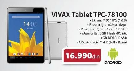 Tablet Tpc-78100