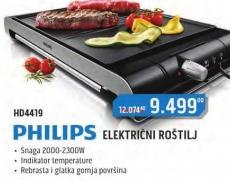 Električni Roštilj HD4419