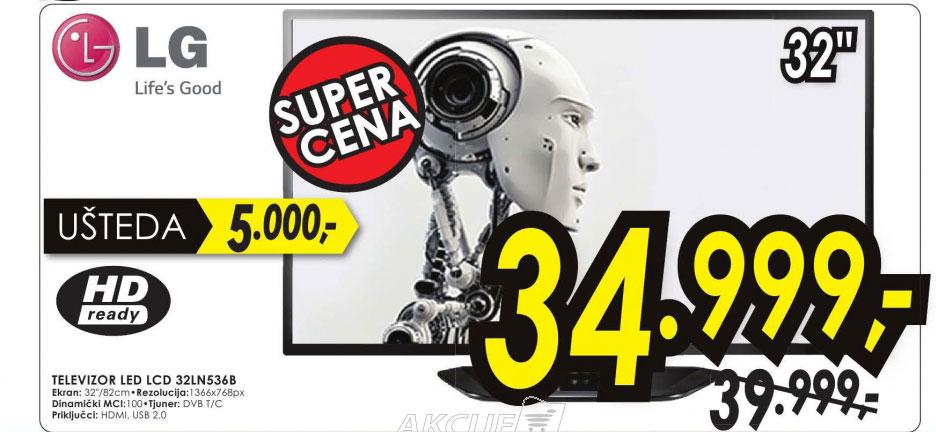 Televizor LED LCD 32LN536B