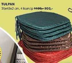 Jastuk za stolicu Tulpan
