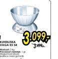 Kuhinjska vaga KS 54