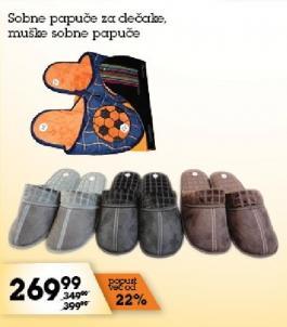Muške sobne papuče