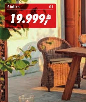 Baštenska stolica Bozen