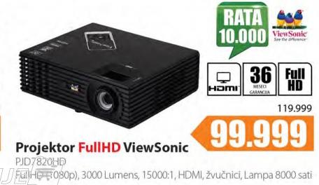 Projektor  PJD7820HD