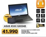Laptop X55C-SX034D