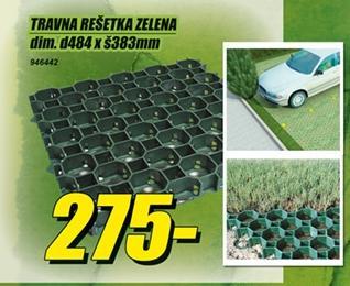 Travna rešetka zelena