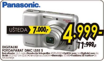 FOTOAPARAT DMC-LS5E-S