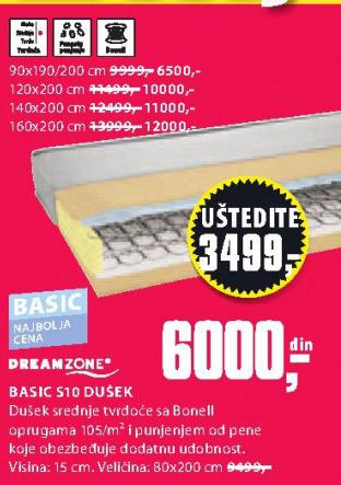 Dušek Basic S10