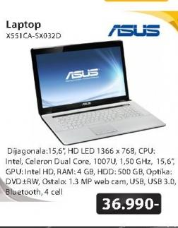 Laptop X551CA-SX032D