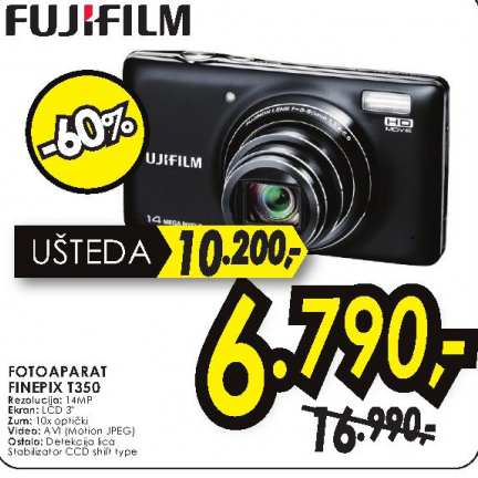 Digitalni fotoaparat FinePix T350