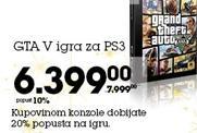 GTA V igra za PS3