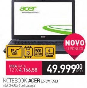 Laptop E5-571-35L1