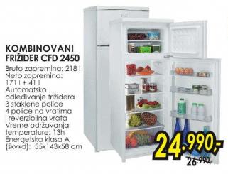 Frižider kombinovani CFD 2450