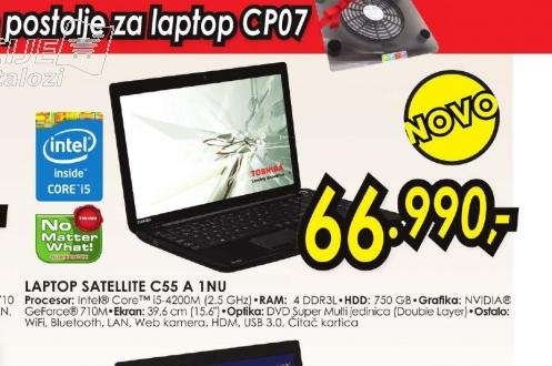 Laptop Satellite C55-A-1NU