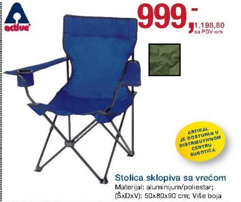 Stolica za kamp