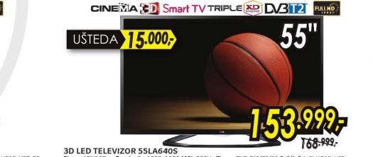 Televizor LED LCD 55LA640S