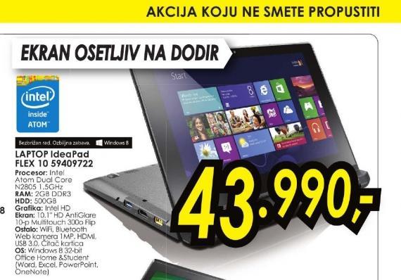 Laptop IdeaPad Flex 10 59409722