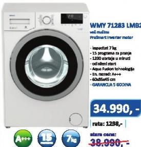 Mašina Za Veš WMY 71283 LMB2