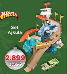 Set Ajkula Hotwheels