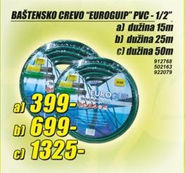 Baštensko crevo Euroguip 15m