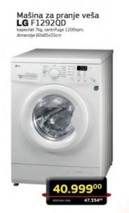 Mašina za pranje veša F1292QD