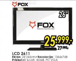 Televizor LCD 2611