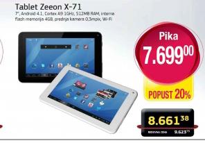 "Tablet 7"" Zeeon X-71W"