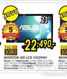Monitor VS239NV