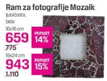 Ram za fotografiju, MOZAIK