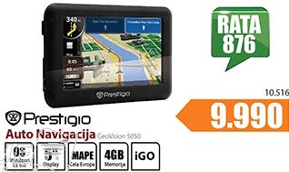 Navigacija GeoVision 5050 GPS