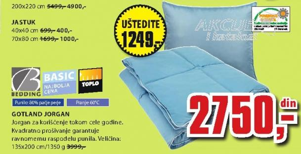 Jastuk Gotland Bedding 40x40