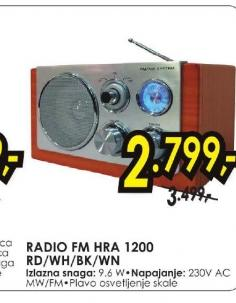 Radio HRA 1200RD
