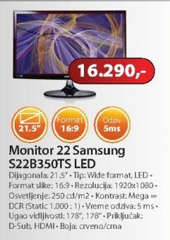 "Monitor LS22B350TS 21,5"""