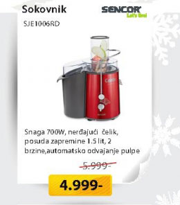 Sokovnik SJE1006RD