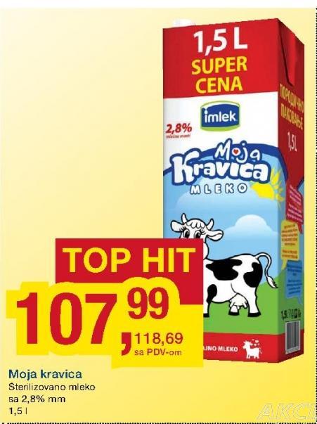Dugotrajno mleko 2,8% mm