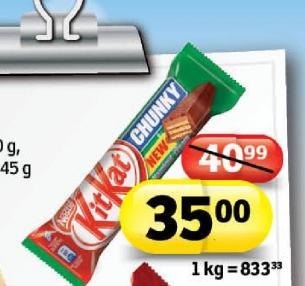 Čokoladica Chunky hazelnut