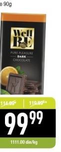 Čokolada crna sa narandžom