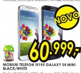 Mobilni telefon  I9195 Galaxy S4 mini black