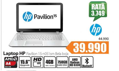 Laptop HP Pavilion 15-b100sm