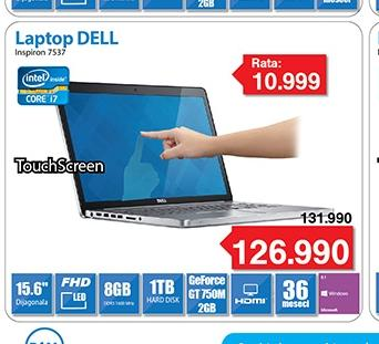 Laptop Inspiron 7537 Win8 15.6""
