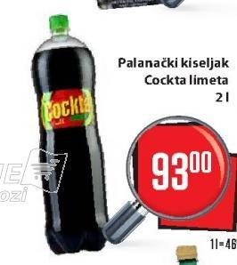 Gazirani sok Limeta