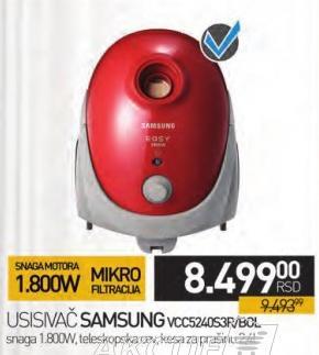 Usisvač Vcc5240s3r/Bol