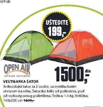 Šator Vestmarka Open Air