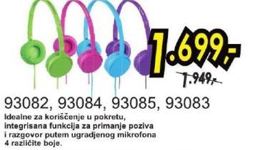 Slušalice 93084