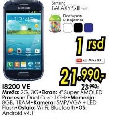 Mobilni telefon Galaxy S III Mini i8200 Ve