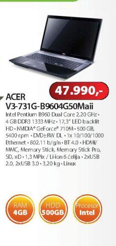 Laptop Aspire V3-731-B964G50