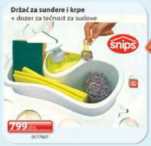Držač za sunđere i krpe Snips